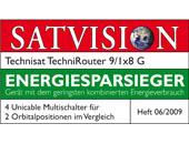 SATVISION Energiesparsieger (06/2009)